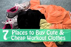 7 Places to Buy Cute & Cheap Workout Clothes | GirlsGuideTo