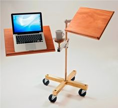 A cool sit-down or stand-up laptop desk.    http://gift-store.eu