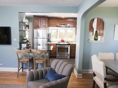 Transitional Kitchens from Meg Caswell on HGTV