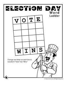 Fun election worksheets to engage your kids in the election process! From www.classroomjr.com.