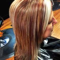 Fall hair color by Becky Vaught