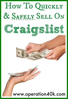How to describe your use furniture on craiglist