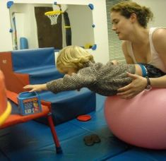 Having a Ball with Core Muscle Strength - Gross Motor Development