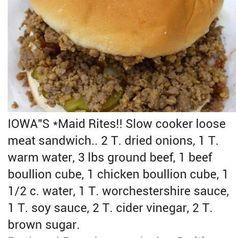 Iowa's maid Rites
