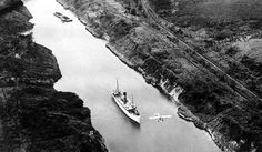 Panama Canal, August 15 1914 - This Day in History: Aug 15, 1914: Panama Canal open to traffic