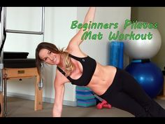 Beginners Pilates Workout - YouTube