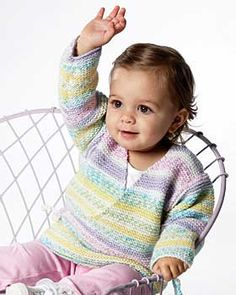 Who doesn't enjoy #knitting for babies? If you've never made a knit baby garment before, this Beginner Knit Baby Kimono is a great pattern to try. Knit completely in the garter stitch, this soft kimono looks far more complicated that it is. Get plenty of practice using the knit stitch in this cute pattern that offers minimal seaming.
