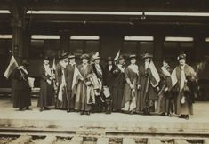 Suffragists took a cross-country train trip in 1916 to launch the National Woman's Party. Then a tour of prisons? #WHM