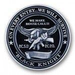 Black Knight 3D Coin