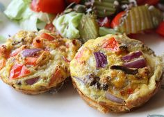 Six in the Suburbs: Breakfast Omelet Muffins