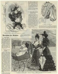 Fashion plates on pinterest - Le journal de la mode ...