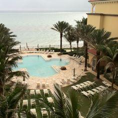 View from my room, Ritz Carlton, Palm Beach Fl 2012