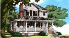 Home Plans HOMEPW25430 - 1,816 Square Feet, 4 Bedroom 3 Bathroom Farmhouse Home with