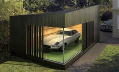 Ecospace's Autospace transforms ordinary garage into stunning show space.