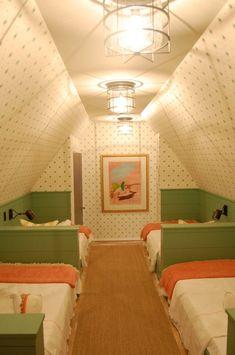 Coastal Living Ultimate Beach House-upstairs bunk room