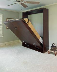 murphy bed ikea hacks malm desk dark floor