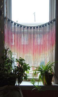 handmade Macrame Window hangings