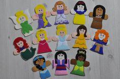 Disney Princess Finger Puppets