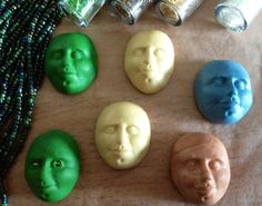 Faces to bead