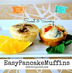 Easy Sweet and Savory Pancake Muffins - The Silly Pearl #CBias #ChooseSmart