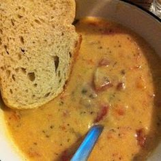 tomato basil parmesan soup – in the crockpot.