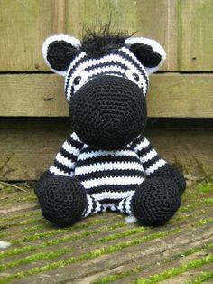 Amugurumi zebra