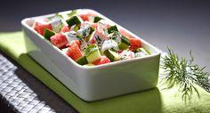Sałatka surimi z sosem jogurtowym - Kuchnia Lidla