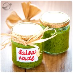 Salsa verde o mojo verde de cilantro