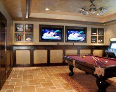 Room designs on pinterest game room design media rooms and basement