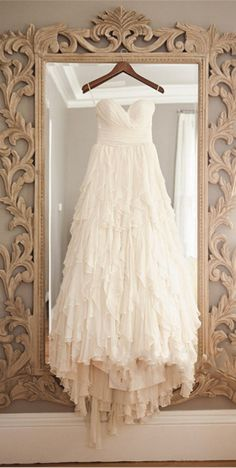 This is too perfect. The design with top is one of my favorite looks for wedding dresses.