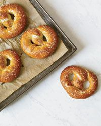 German-Style Pretzels Recipe from Food & Wine food recipes, wine, german recipes, pretzel recipes, germanstyl pretzel, foods, german food, food photo, pretzels