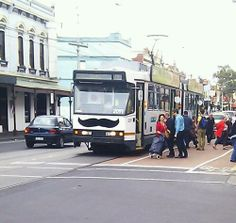 Melbourne. Where even our trams are hipster.