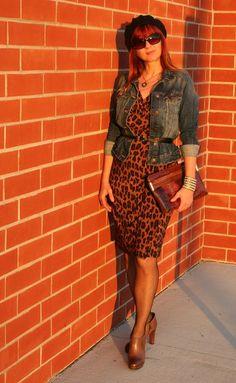 H jean jacket & dress