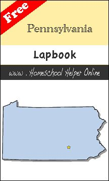 Free Pennsylvania Lapbook - Homeschool Helper Online
