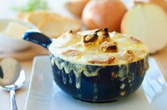 French Onion Soup #realsummerrealflavor #challengebutter #butter