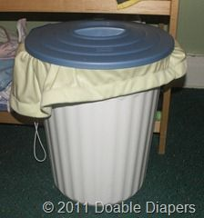 cloth diaper storage solutions