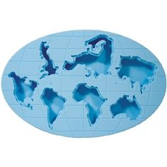 The World In Ice Tray