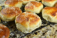 Potato Dinner Rolls with Parmesan and Black Pepper... inspired by America's Test Kitchen recipe