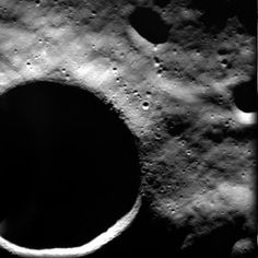 The Shackleton Crater on the lunar South Pole