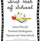 44 pages of new and creative ideas for the first week of school for Preschool, Kindergarten, Daycares and Homeschools. Curriculum areas covered: ...