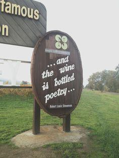 Wine is bottled poetry.