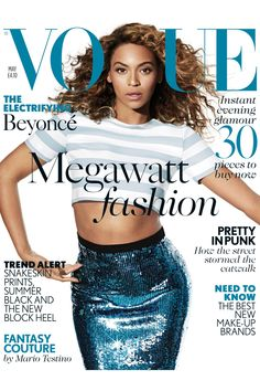 Beyoncé graces the May cover of Vogue UK and talks about motherhood and her musical journey in the sneak peek.