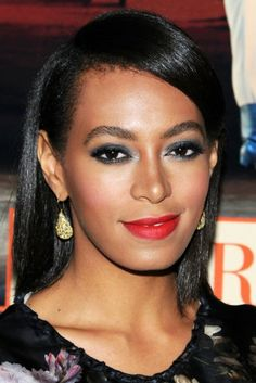 We haven't seen Solange in straight hair in...well, we can't even recall how long! Her newly straight strands are fierce at the American Ballet Theatre Opening Night Fall New York City Center Gala.