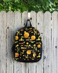 Star Trek Backpack, Command Gold
