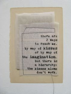 very cute; to live poetry