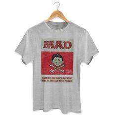 Camiseta Masculina MAD Poison 2 #MAD #madmagazine #altredneuman