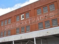 Old warehouse on East Main Street, Chattanooga
