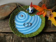 Garden Gnome Decorative Bowl Key Bowl Jewelry by HipEarthDesigns,