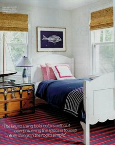 Maritime details  | Lynn Morgan Design | Coastal Living July 2012