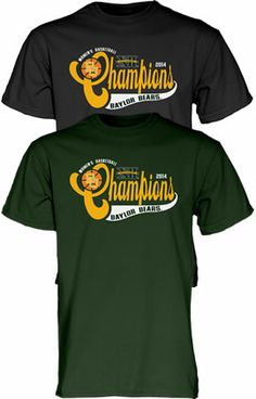 #Baylor Lady Bears 2014 #Big12Champs t-shirt (available at Baylor Bookstore)